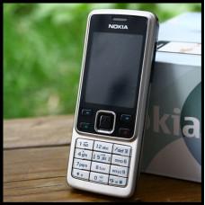 Мобильный телефон 6300 серебристый на английском