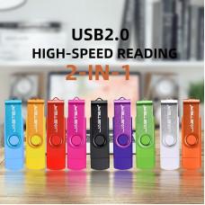Двухсторонняя флешка USB + micro-USB Jaster флешка 64GB