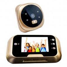 Цифровой дверной видеоглазок беспроводной 3,0 дюйма
