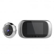 Цифровая дверная камера 2,8 дюймовая HD с функцией дверного звонка