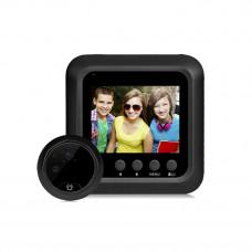Цифровой дверной видеоглазок беспроводной 2.4 дюйма