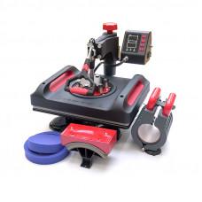 Портативный термопресс для футболок Freesub P8001-5 (29х38 см)