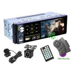 Автомобильный мультимедийный плеер 4.1 дюйма сенсорный экран 1 Din