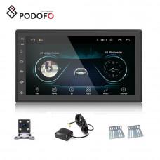 Автомобильный мультимедийный плеер 7 дюймов Podofo 2 Din с навигатором