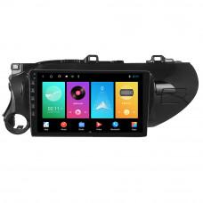 Автомобильный мультимедийный плеер NaviFly с навигатором для автомобиля TOYOTA HILUX 2016-2018
