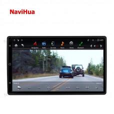 Универсальная мультимедийная стерео-система 13.6 дюймов 2DIN с GPS навигатором NAVIHUA