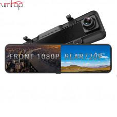 Автомобильный видеорегистратор Zimtop 4K Hisilicon 3559 IMX 415, зеркало заднего вида с ночным видением