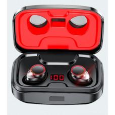 Беспроводные наушники TWS X10 3500 мАч Наушники-вкладыши Bluetooth 5.0 вононепроницаемые IPX7  Red
