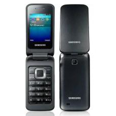 Раскладушка Samsung  C3520 GSM 2G  800 МАЧ черный на английском языке