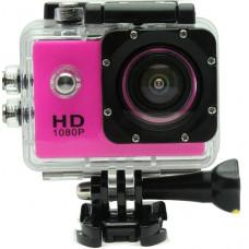Экшн камера  розовая Камера Водонепроницаемый Бокс 30м