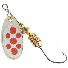 Блесна Balzer Colonel Spinner With Single Hook 3 г Red Spot