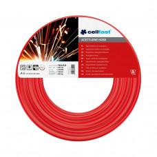 Шланг для ацетилену Cellfast 9,0 х 3,0 мм 50 м
